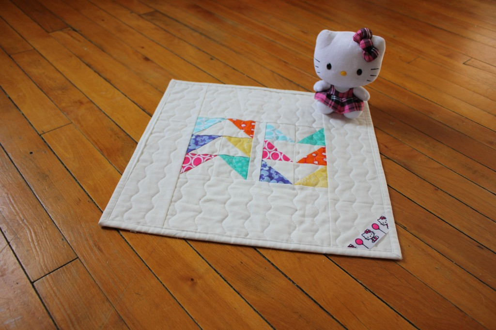 Hello Kitty Winter Sunshine Quilt