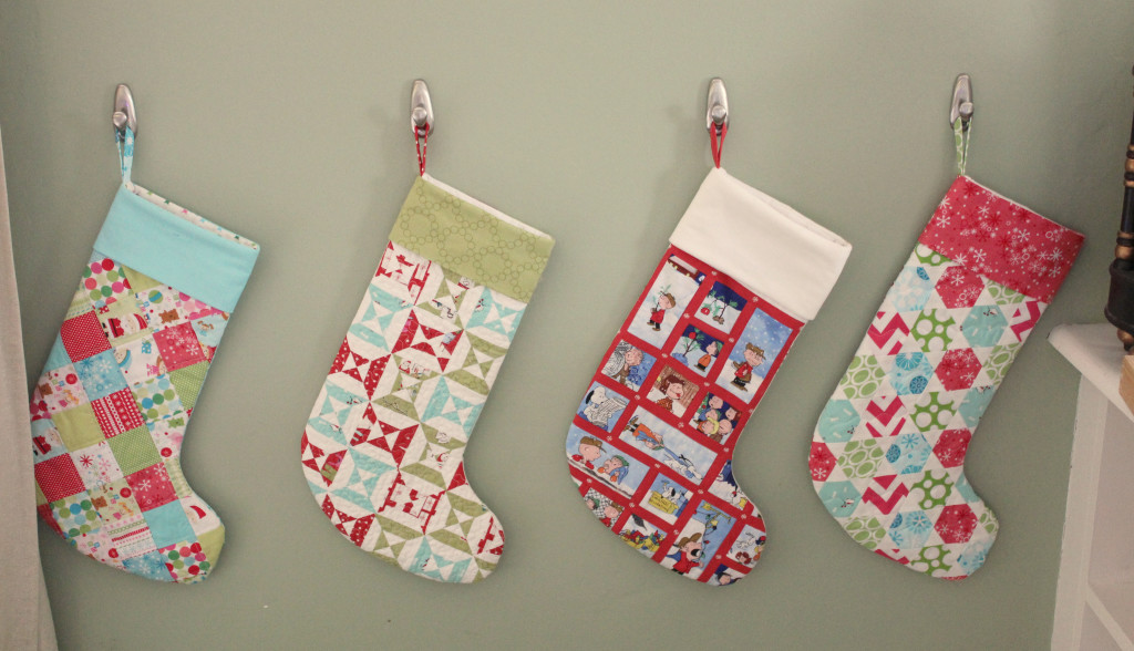 Family Stockings, by Stitchified
