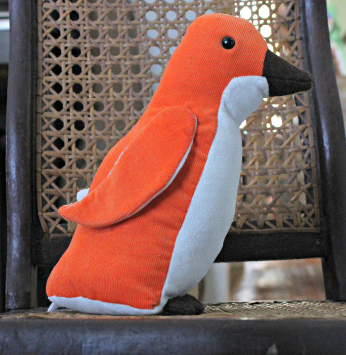 Vintage Inspired Penguin Plush, by Stitchified