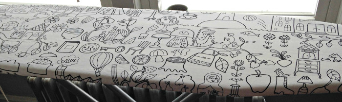 New Ironing Board Cover, by Stitchified